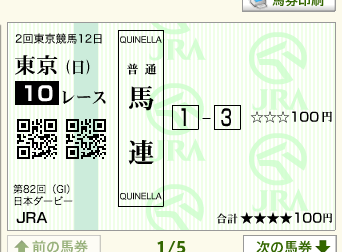 日本ダービー(G1)