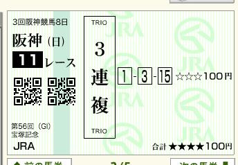 第56回 宝塚記念(GI)