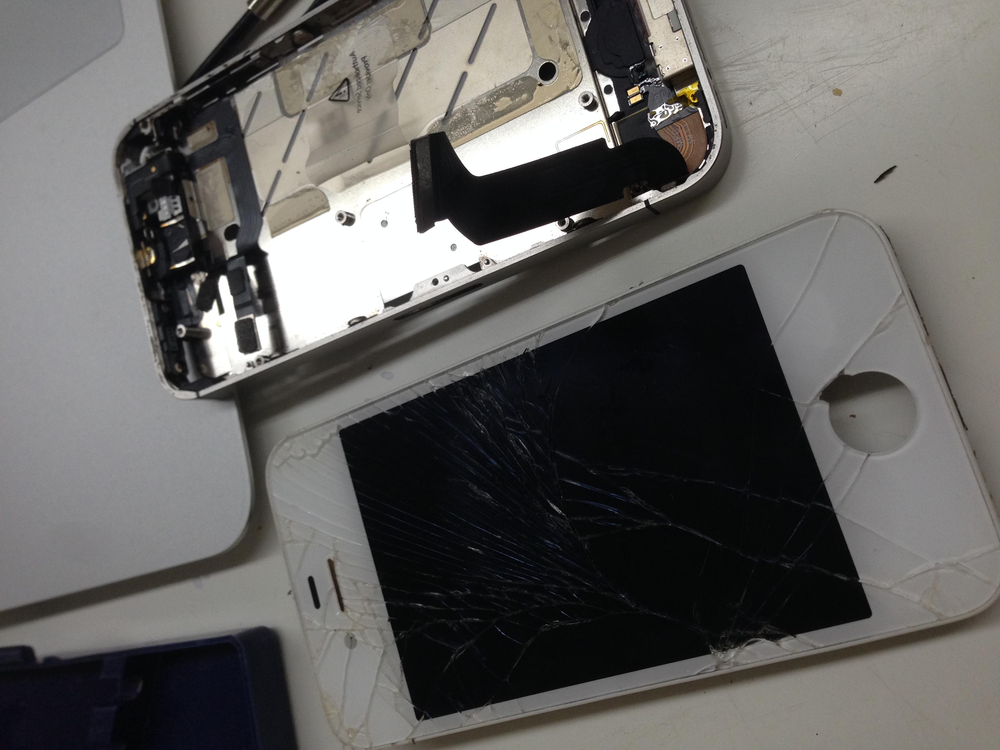 iPhone5液晶交換