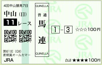 第61回 産経賞オールカマー(GⅡ)