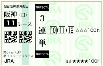 第67回 朝日杯フューチュリティステークス(GI)