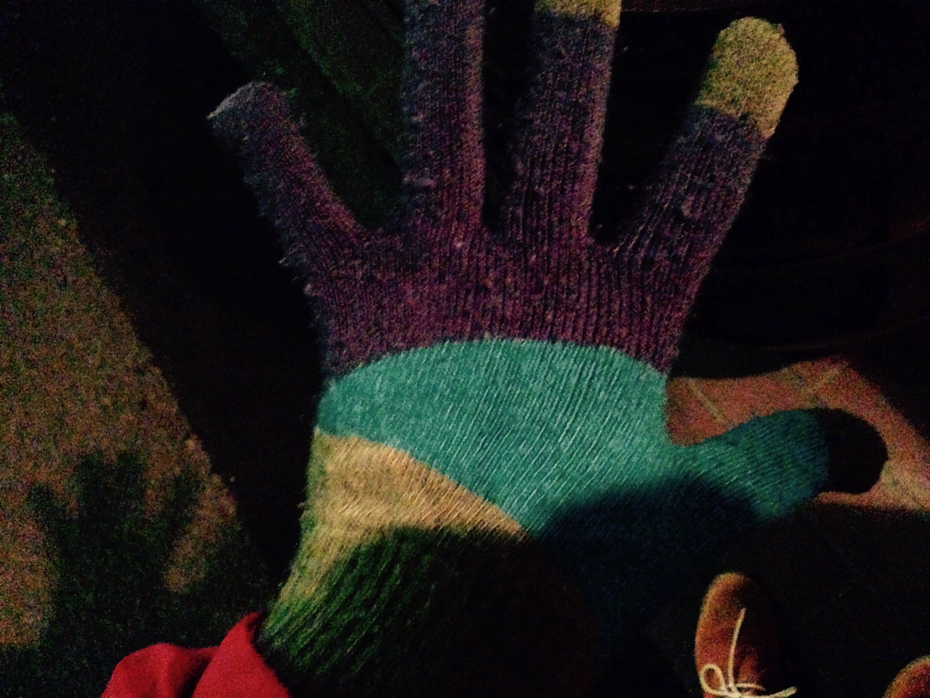 スマホ用手袋♪