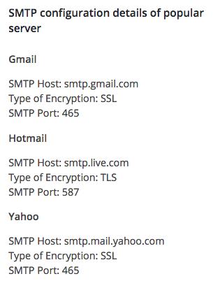 WP SMTP