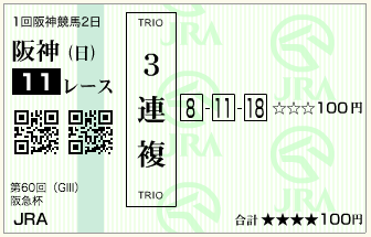 第60回 阪急杯(GⅢ)