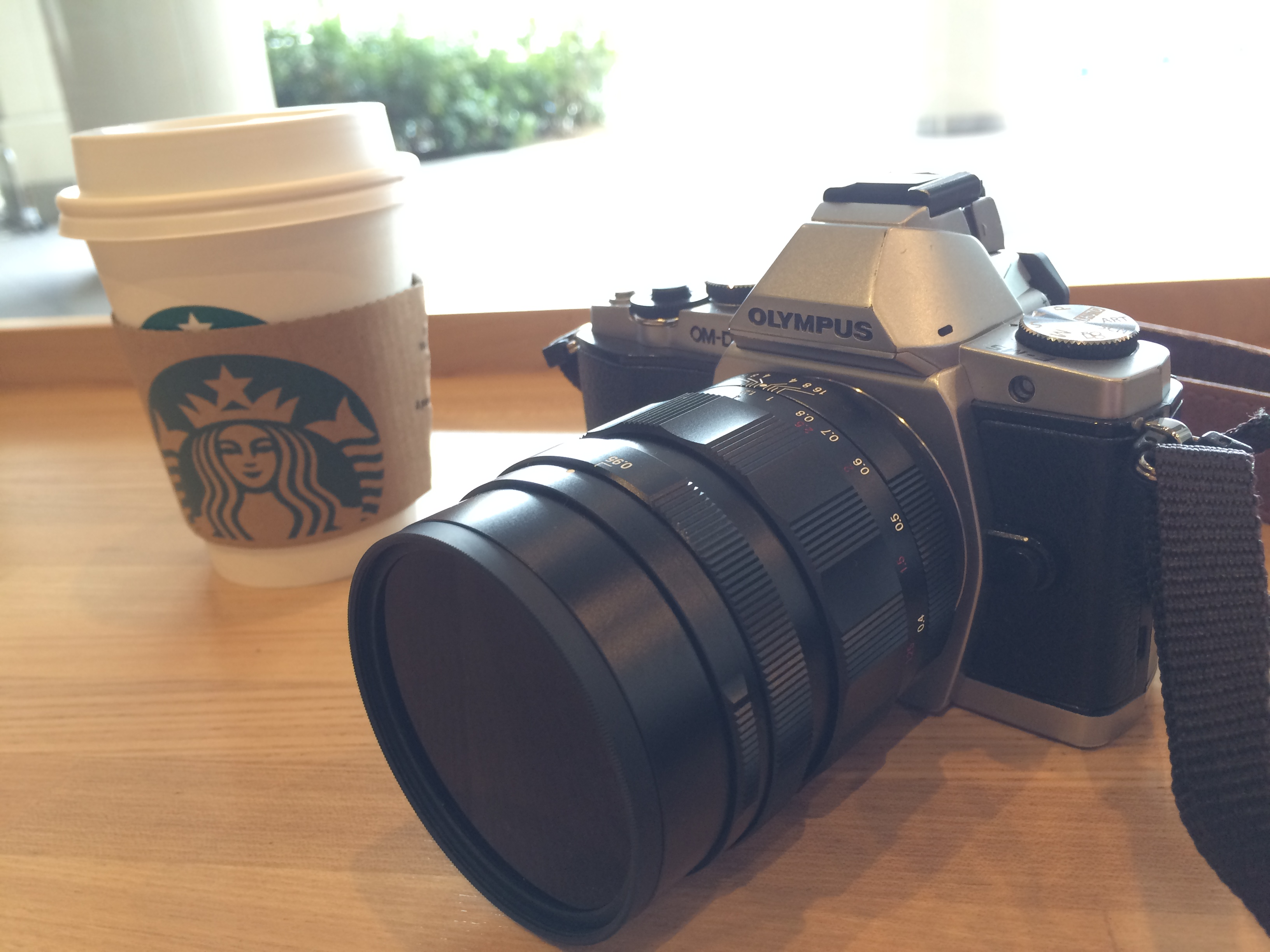 スタバとカメラ