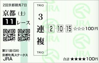 第51回 京都牝馬ステークス(GⅢ)