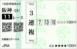 大阪城ステークス