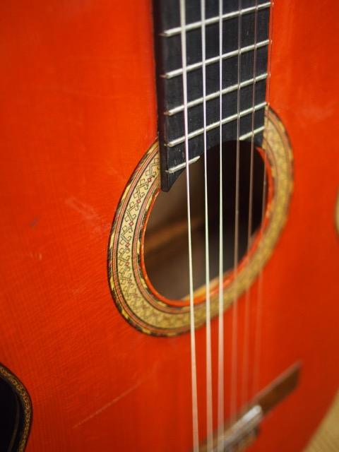 津波に負けなかったギター