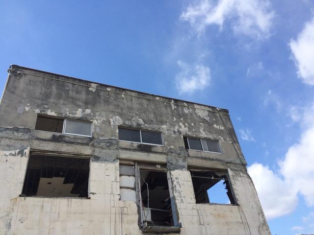 旧大槌町役場前