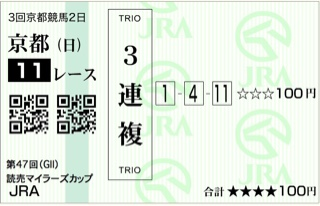 第47回 読売マイラーズカップ(GⅡ)
