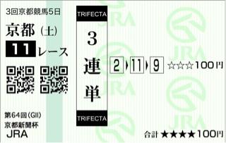 第64回 京都新聞杯(GⅡ)