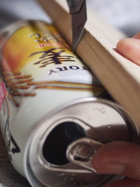 空き缶ランタン
