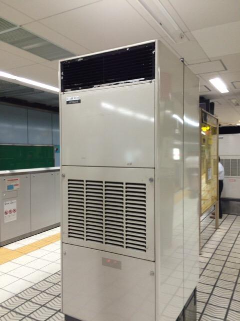 地下鉄の冷房