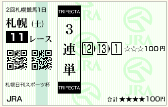 札幌日刊スポーツ杯