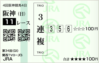 第34回 関西テレビ放送賞ローズステークス(GⅡ)