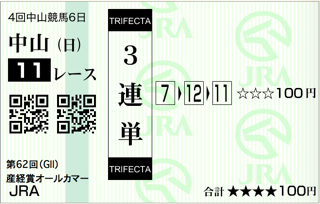 第62回 産経賞オールカマー(GⅡ)