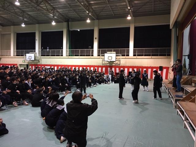 南八下中学校 創立30周年記念式典