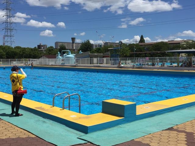 金岡公園プールが懐かしすぎて…夏。 | たつをブログ