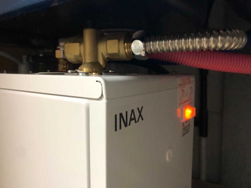 電気温水器設置完了